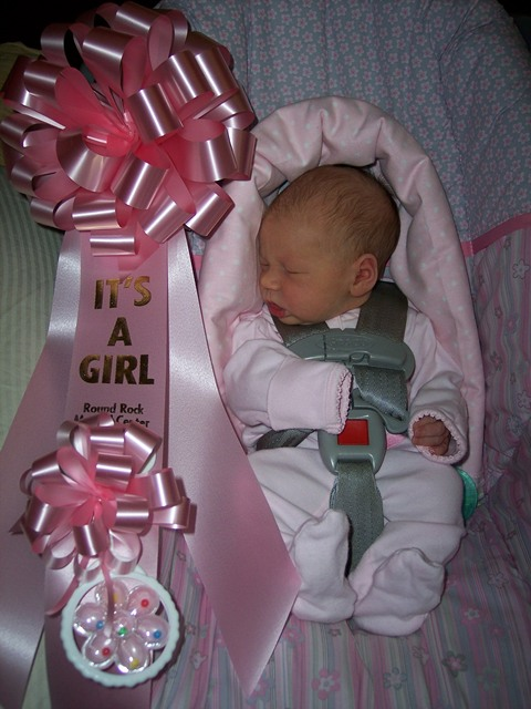 28-Sep-11 - Arilynn, getting ready to come home